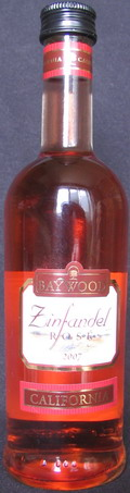 Zinfandel rosé 2007