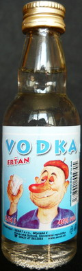 vodka frťan