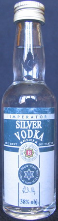 Silver vodka