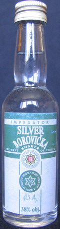 Silver borovička