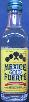 Mexico gold fuerte