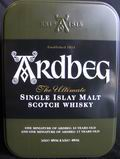 Ardbeg - single islay malt scotch whisky