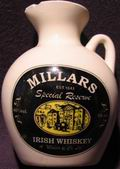 Millars irish whiskey - minibottles