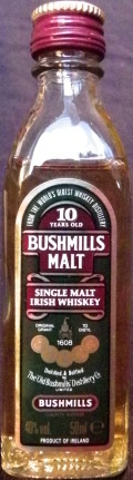 Bushmills Malt