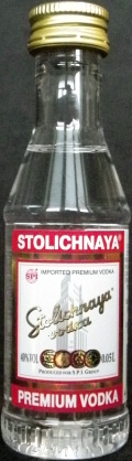 Stolichnaya vodka