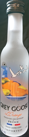 Grey Goose L`Orange flavored vodka