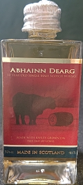 Abhainn X Dearg 10 year old single malt scotch whisky
